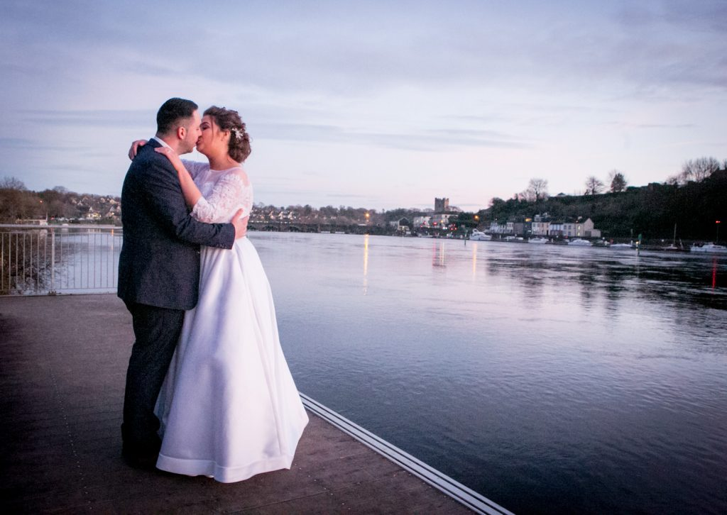 Wedding at the lakeside hotel killaloe